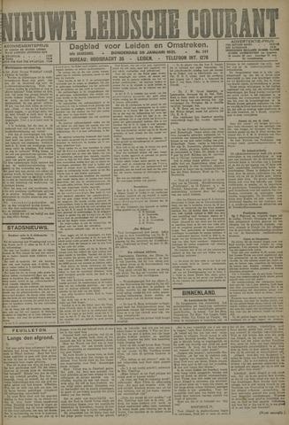 Nieuwe Leidsche Courant 1921-01-20