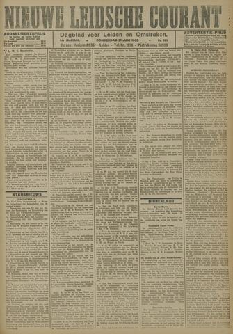 Nieuwe Leidsche Courant 1923-06-21