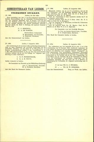 Handelingen van de Raad 1928-07-24