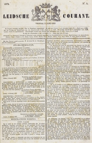 Leydse Courant 1872-01-05