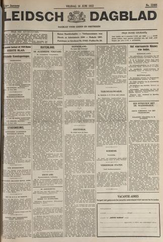Leidsch Dagblad 1933-06-16