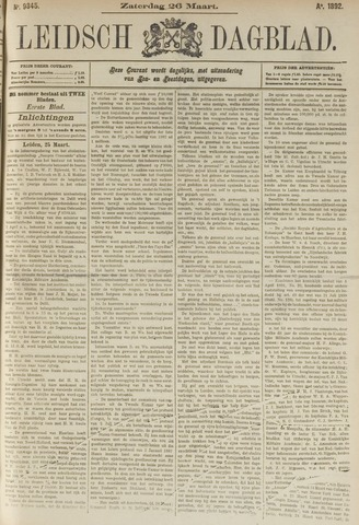 Leidsch Dagblad 1892-03-26