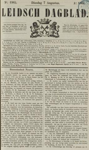 Leidsch Dagblad 1866-08-07