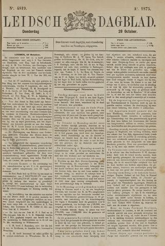 Leidsch Dagblad 1875-10-28
