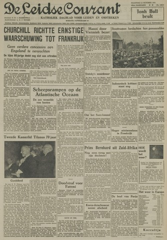 Leidse Courant 1954-10-11