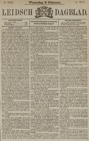 Leidsch Dagblad 1882-02-08