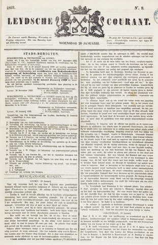 Leydse Courant 1869-01-20