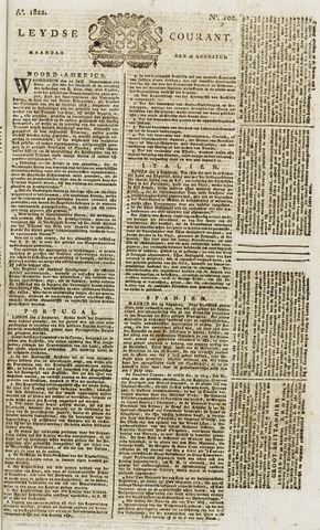 Leydse Courant 1822-08-26