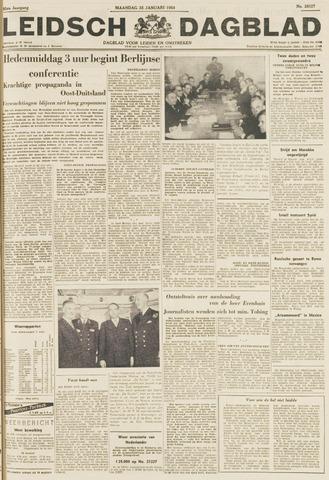 Leidsch Dagblad 1954-01-25