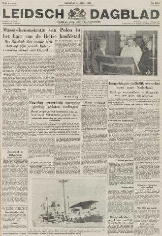 Leidsch Dagblad 1956-04-23