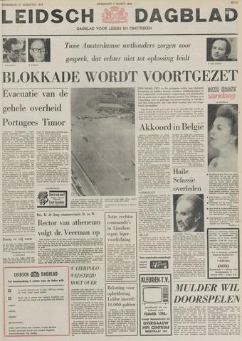 Leidsch Dagblad 1975-08-27