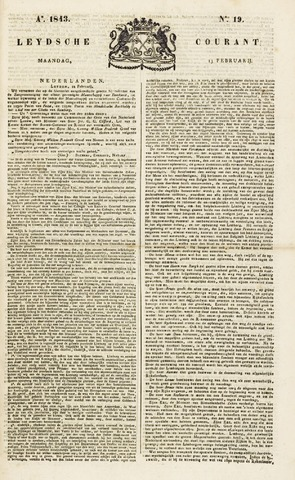 Leydse Courant 1843-02-13