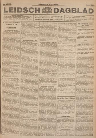 Leidsch Dagblad 1926-09-06
