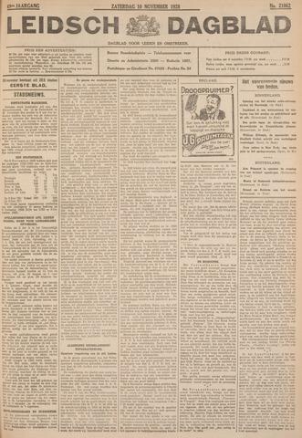 Leidsch Dagblad 1928-11-10