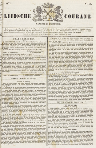 Leydse Courant 1871-02-27