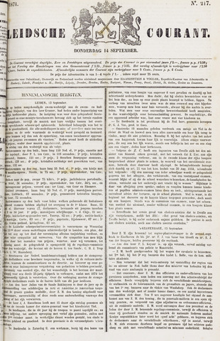 Leydse Courant 1871-09-14