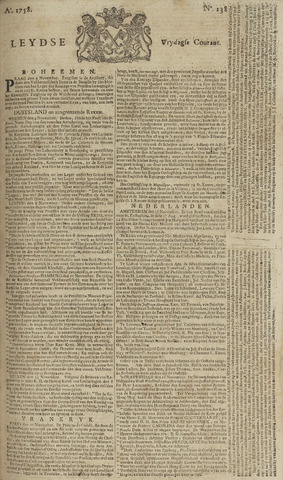 Leydse Courant 1758-11-17