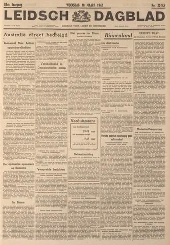Leidsch Dagblad 1942-03-18