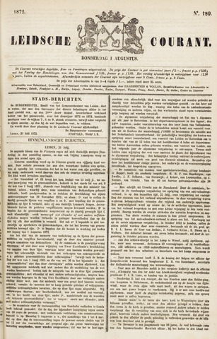 Leydse Courant 1872-08-01
