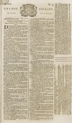 Leydse Courant 1814-03-21