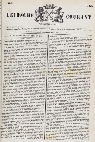 Leydse Courant 1882-07-26