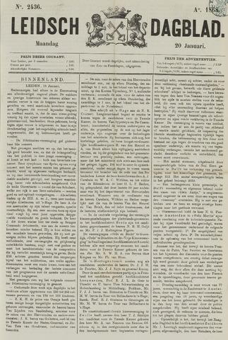 Leidsch Dagblad 1868-01-20