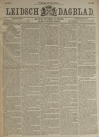 Leidsch Dagblad 1896-10-16