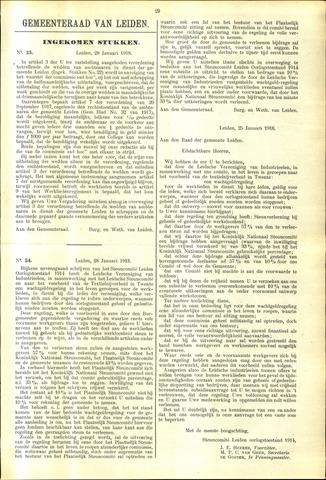 Handelingen van de Raad 1918-01-28