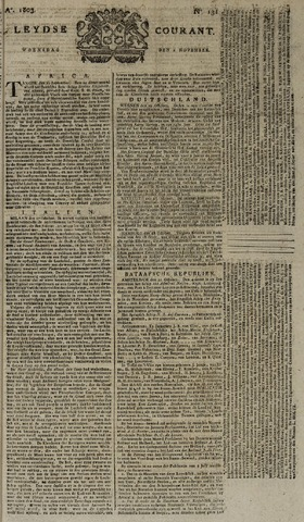 Leydse Courant 1803-11-02