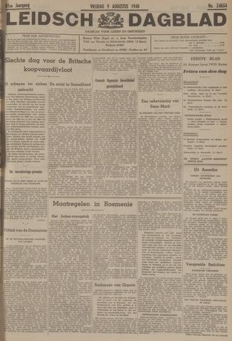 Leidsch Dagblad 1940-08-09