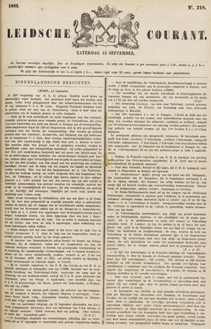 Leydse Courant 1883-09-15
