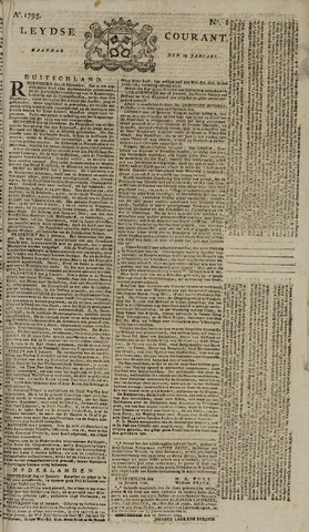 Leydse Courant 1795-01-19