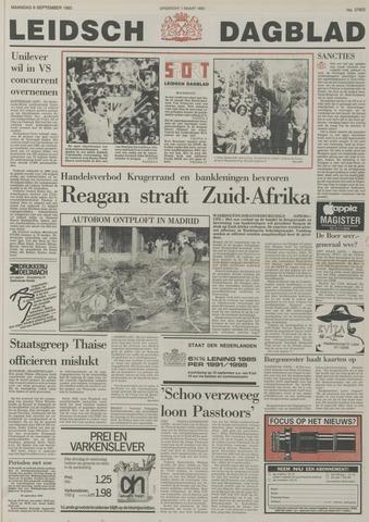 Leidsch Dagblad 1985-09-09