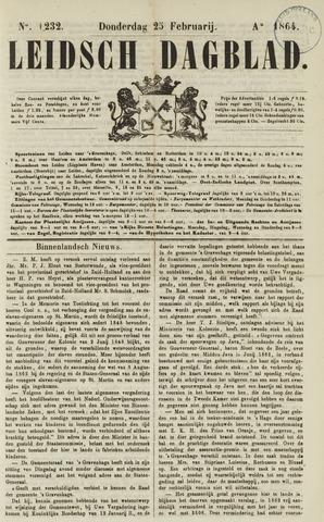 Leidsch Dagblad 1864-02-25