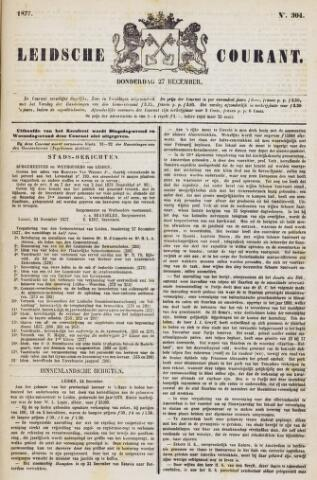Leydse Courant 1877-12-27