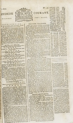Leydse Courant 1826-03-01