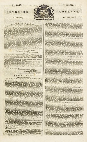 Leydse Courant 1843-02-20