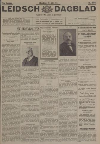 Leidsch Dagblad 1937-06-28