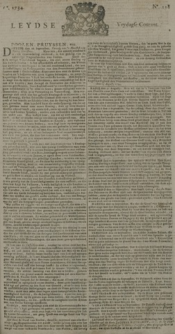 Leydse Courant 1734-10-01