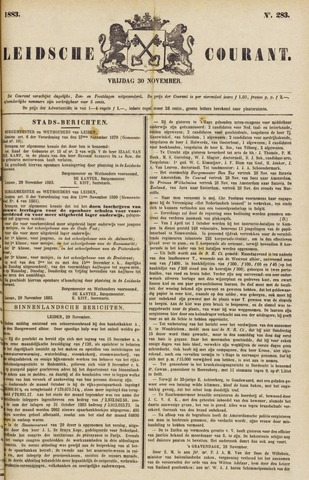 Leydse Courant 1883-11-30