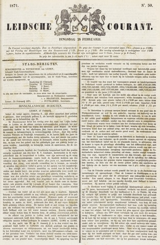 Leydse Courant 1871-02-28
