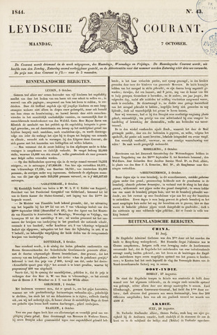 Leydse Courant 1844-10-07
