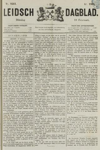 Leidsch Dagblad 1868-02-18