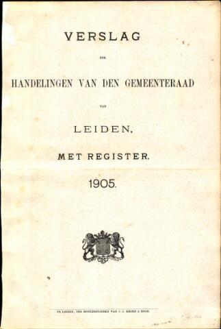 Handelingen van de Raad 1905-01-01