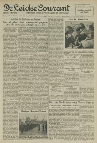 Leidse Courant 1952-02-25