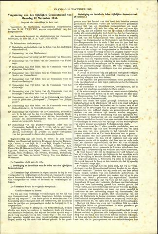 Handelingen van de Raad 1945-11-12