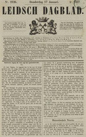 Leidsch Dagblad 1867-01-17