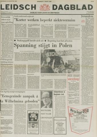 Leidsch Dagblad 1980-08-30