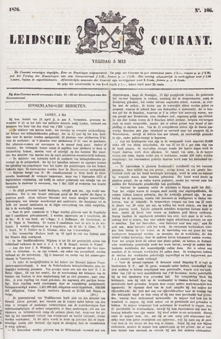 Leydse Courant 1876-05-05