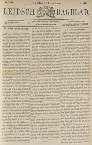 Leidsch Dagblad 1885-10-09